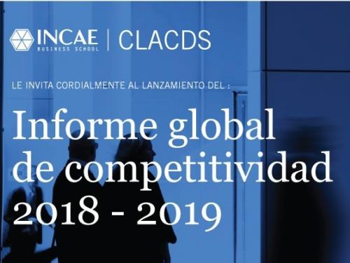 Informe Global de Competitividad