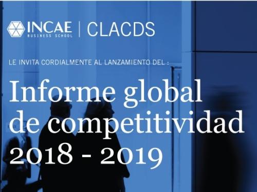 Informe Global de Competitividad