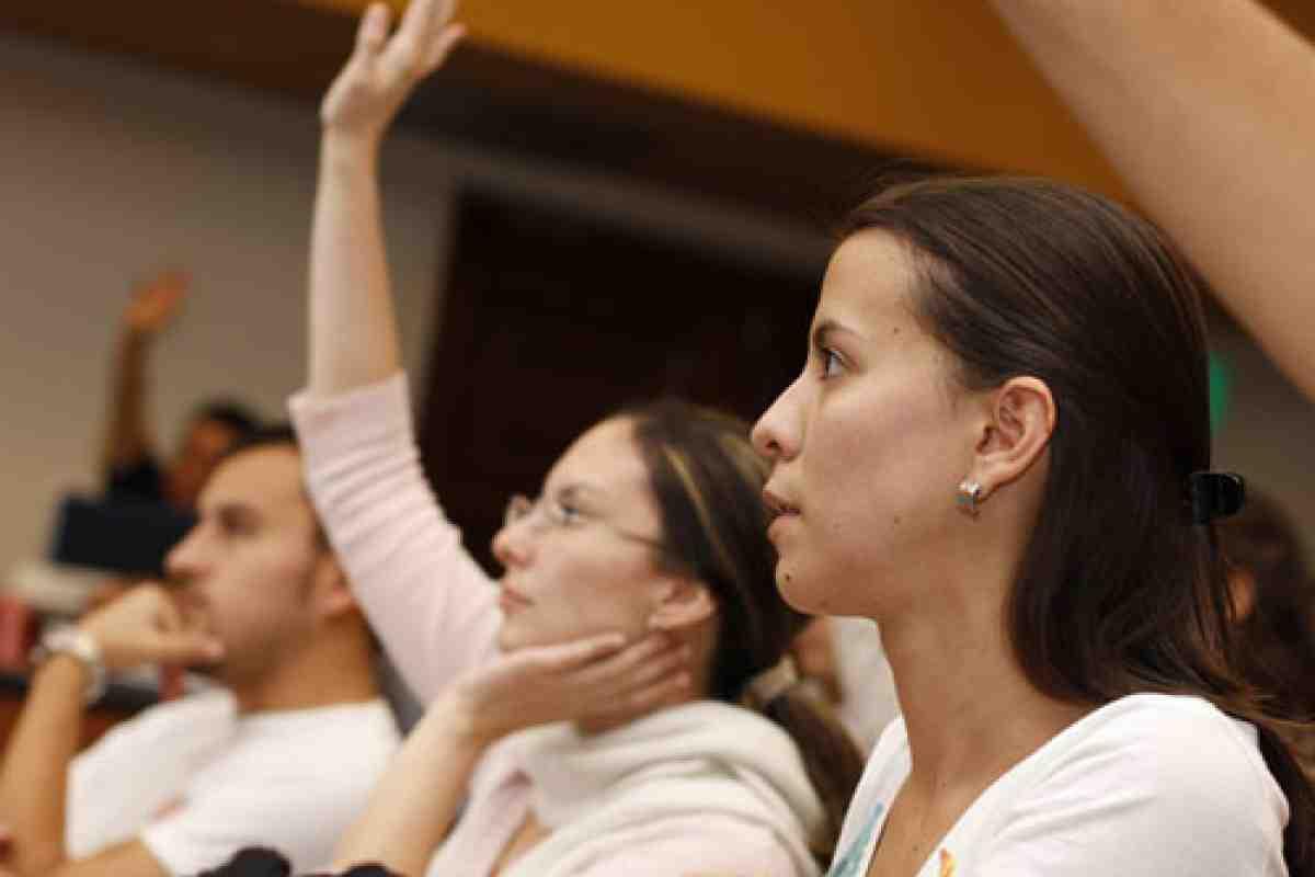 Sesión informativa del MBA de INCAE, en México, Puebla