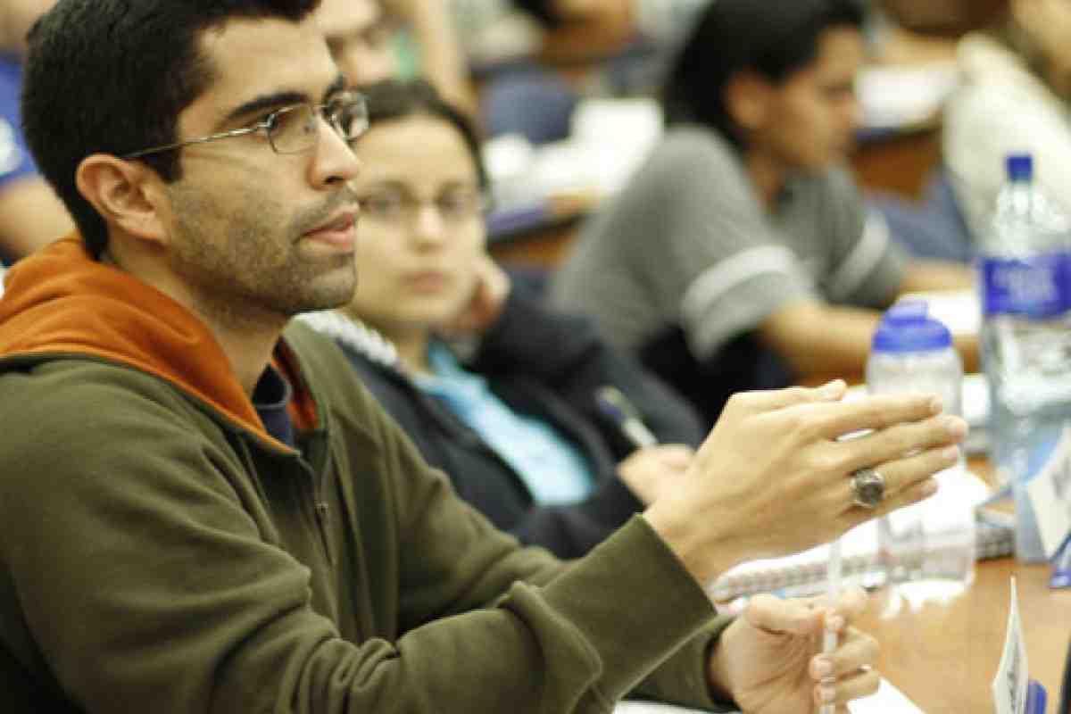 Sesión informativa del MBA de INCAE, en Bolivia, La Paz