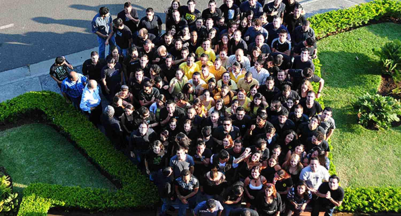 INCAE students visit Tribu DDB. Class of 2011