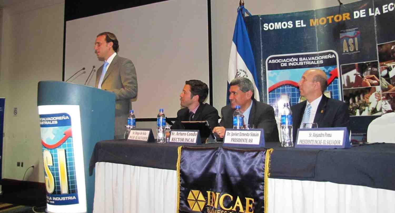 INCAE firma convenio con Asociación Salvadoreña de Industriales
