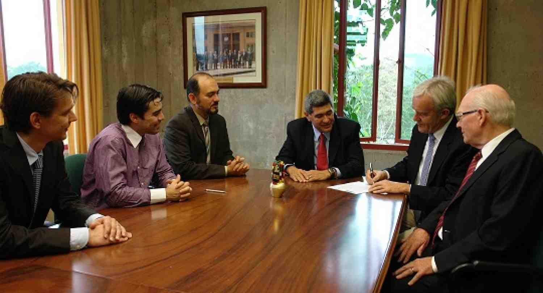 INCAE firmó memorando de entendimiento con la Universidad de St. Gallen, Suiza