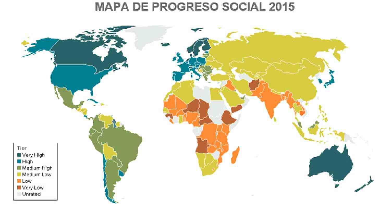 Índice de Progreso Social 2015