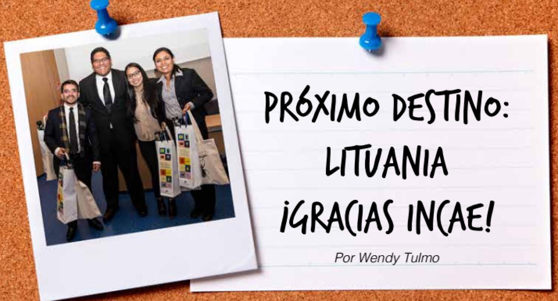 Próximo destino: Lituania