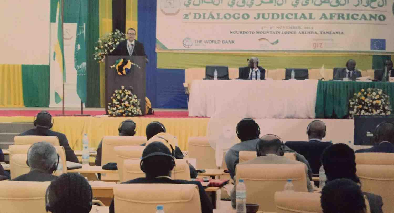 Profesor de INCAE es Orador Principal del Segundo Diálogo Judicial Africano