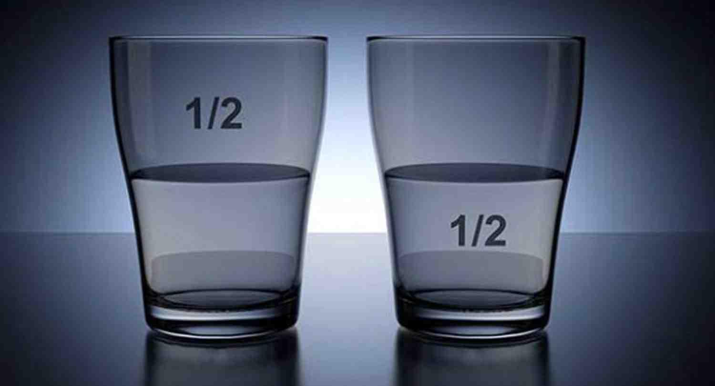 Ver el vaso medio lleno, más que un mantra de positivismo ciego (parte 1)
