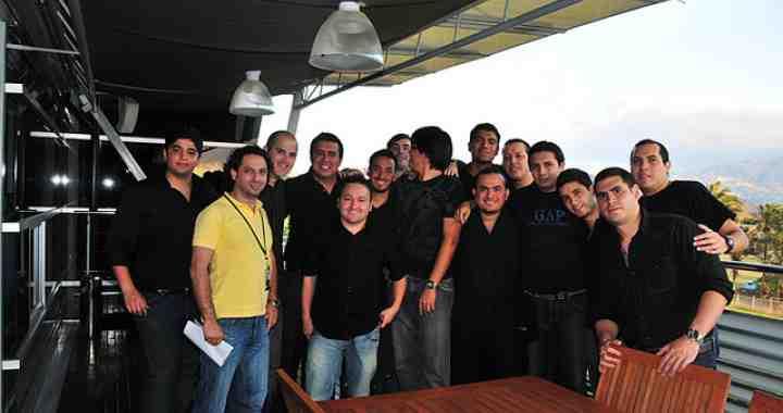 Visita de estudiantes de INCAE a Tribu DDB. Generación 2011