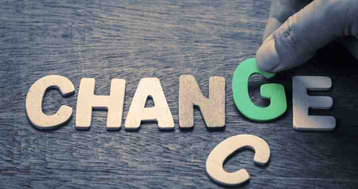 Life-Long unlearning and change