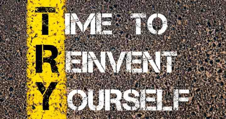 ¡Reinventarse!