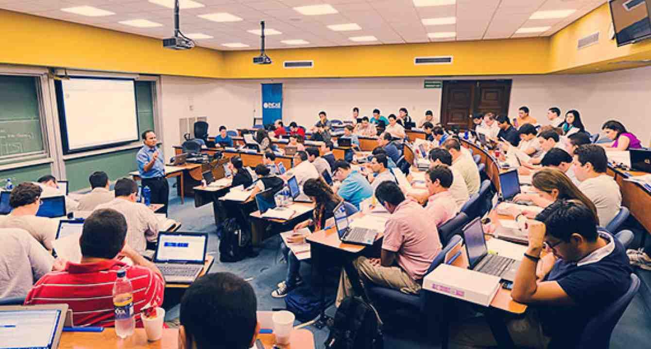 Sesión informativa MBA, Quito, Ecuador
