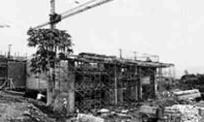 Construcción del Edificio Administrativo Campus Walter Kissling Gam, Costa Rica 1982