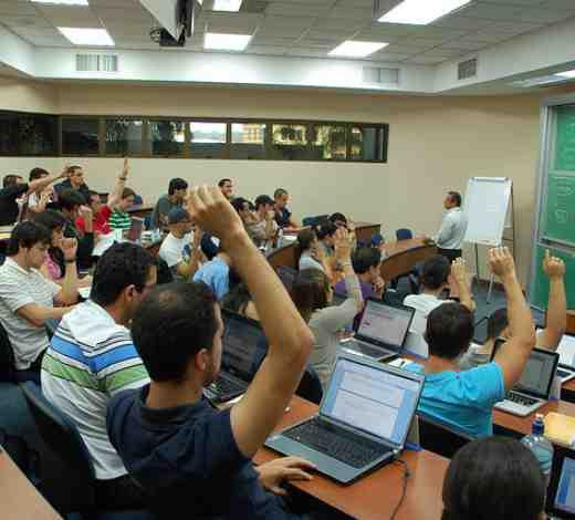 Una clase del MBA de INCAE