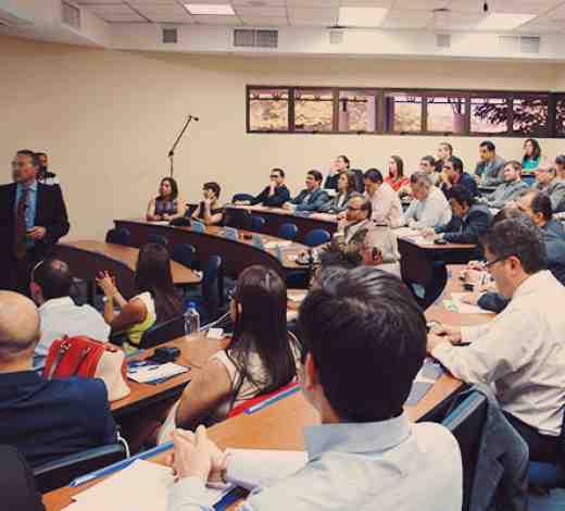 Clase modelo de INCAE, El Salvador